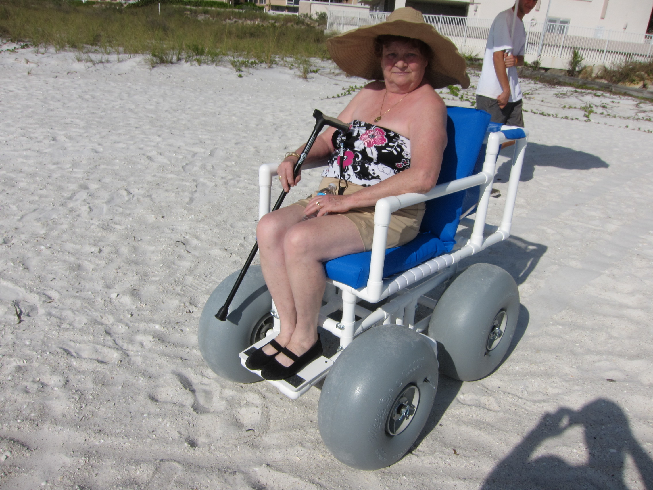 Beach wheel chair rental for your Anna Maria Island beach wedding
