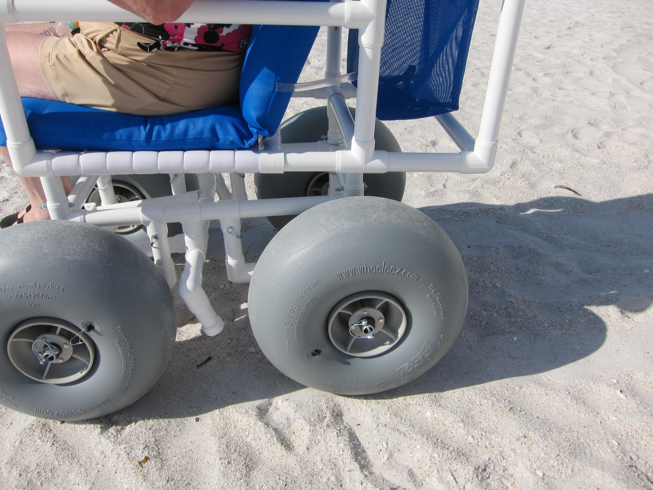 Beach wheel chair rental for your Anna Maria Island beach wedding