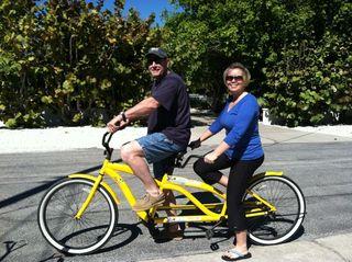 Fun and more tandem bike