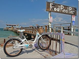 Bike at Rod & Reel Pier