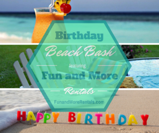 Fun and More Rentals Birthday on Anna Maria Island
