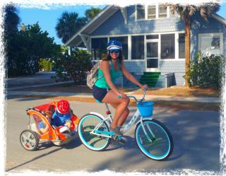 Bike Trailer rental Anna Maria Island